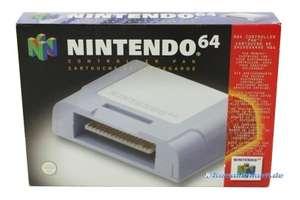 Original Nintendo Controller Pak #grau NUS-004