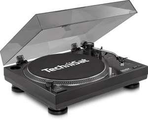 DJ-Plattenspieler LP 300 - Profi-USB #schwarz [TechniSat]