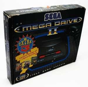 Konsole MD2 + 3 Spiele + Original Controller + Zubehör