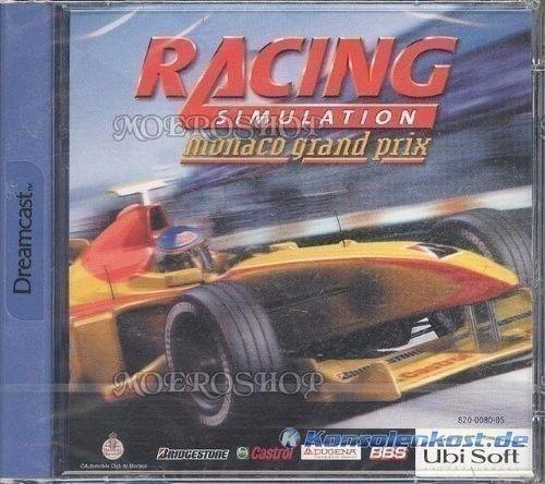 Racing Simulation: Monaco Grand Prix