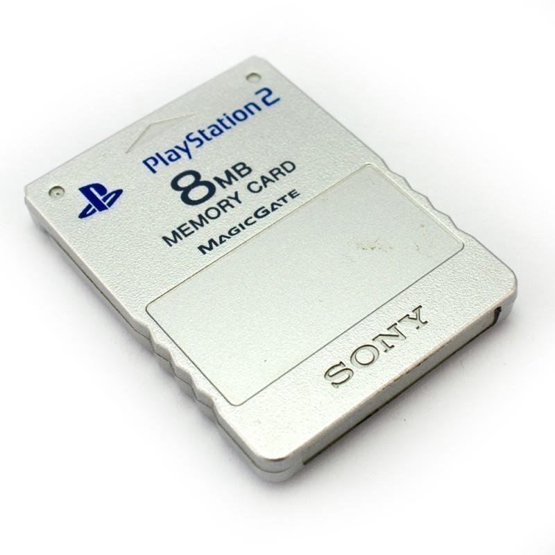 Original Sony Memory Card / Memorycard / Speicherkarte 8 MB #silber