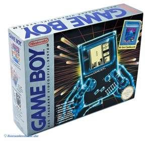 Konsole + Tetris +Linkkabel + Kopfhörer #grau Classic 1989