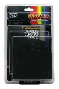 Nintendo 3 Pack Retro Case Cartridge Protector