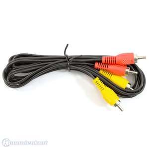 AV Cinch Kabel / doppelt #1,8m [Dritthersteller]
