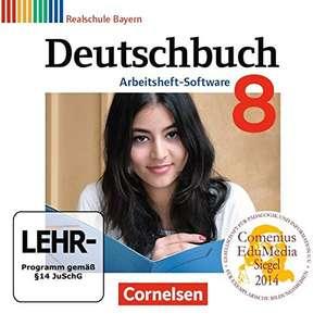 Deutschbuch - Realschule Bayern / 8. Jahrgangsstufe - Übungs-CD-ROM zum Arbeitsheft [Cornelsen Verlag]