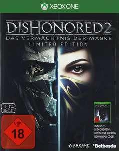 Dishonored 2: Das Vermächtnis der Maske #Jewel of South Pack + Blechschild