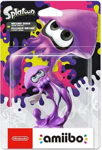Splatoon Figur: Inkling Squid #neon lila