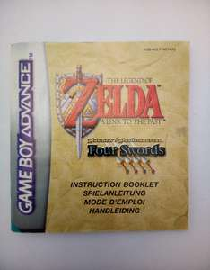 The Legend of Zelda: A Link to the Past / Four Swords - Spielanleitung / Handbuch / Manual / Guide / Instruction