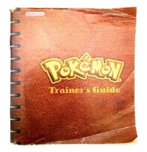 Pokemon Gelbe Edition - Spielanleitung / Handbuch / Manual / Guide / Instruction