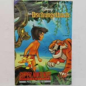 Disney Das Dschungelbuch Anleitung #SNSP-7K-NOE - Spielanleitung / Handbuch / Manual / Guide / Instruction