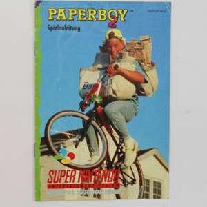 Paperboy 2 #SNSP-P2-NOE - Spielanleitung / Handbuch / Manual / Guide / Instruction