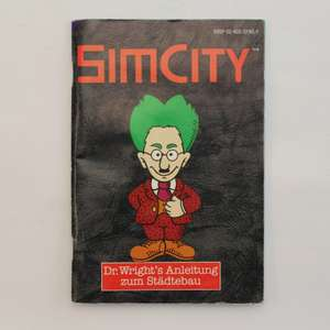 Sim City #SNSP-SC-NOE - Spielanleitung / Handbuch / Manual / Guide / Instruction