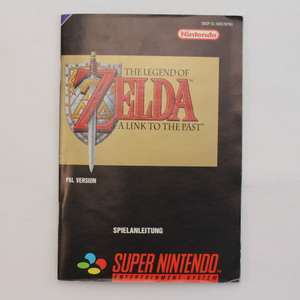 The Legend Of Zelda A link To The Past #SNSP-ZL-NOE - Spielanleitung / Handbuch / Manual / Guide / Instruction