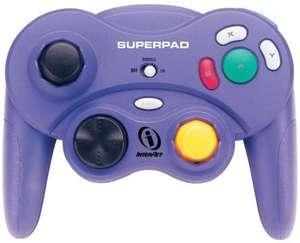 Superpad Controller / Pad #schwarz mit Vibration [InterAct]