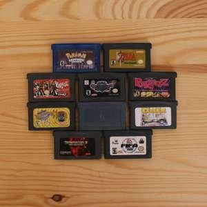 10 GameBoy Spiele zum TOP Preis! - GBA 486