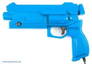 Original Virtua Gun / Lightgun / Pistole / Light Phaser MK-80311 #blau [Sega]