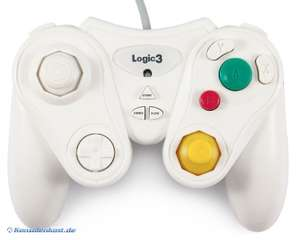 Controller / Pad #weiß mit Turbo / Slowmotion / NW801 [Logic 3]