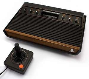 Konsole CX-2600 #6 Schalter Holz-Design + Original Controller + Zubehör