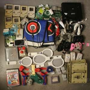 Saturn, NES Platinen, Controller, Zubehör