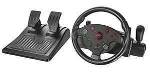 Lenkrad GXT 288 Gaming Wheel mit Pedale #schwarz [Trust Gaming]
