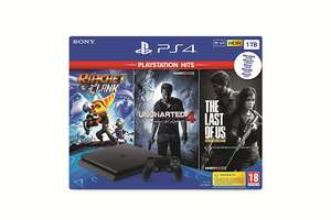 Konsole 1TB #schwarz + Last Of Us + Uncharted 4 + Ratchet and Clank (gebrauch
