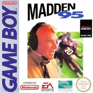 Madden 95 #DMG-ANLE-USA - Spielanleitung / Handbuch / Manual / Guide / Instruction