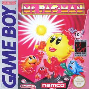 Ms. Pac-Man #DMG-N4-USA-1 - Spielanleitung / Handbuch / Manual / Guide / Instruction
