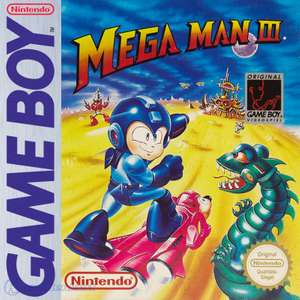 Mega Man 3 #DMG-W3-NOE - Spielanleitung / Handbuch / Manual / Guide / Instruction
