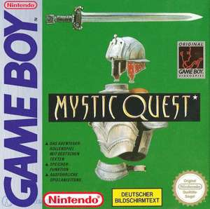 Mystic Quest #DMG-FF-NOE - Spielanleitung / Handbuch / Manual / Guide / Instruction