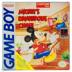 Mickey's Dangerous Chase #DMG-MC-NOE - Spielanleitung / Handbuch / Manual / Guide / Instruction