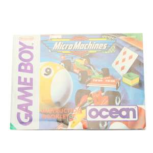 Micro Machines #DMG-H3-UKV - Spielanleitung / Handbuch / Manual / Guide / Instruction