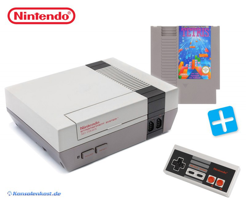 Konsole + Tetris + Original Controller + Zubehör