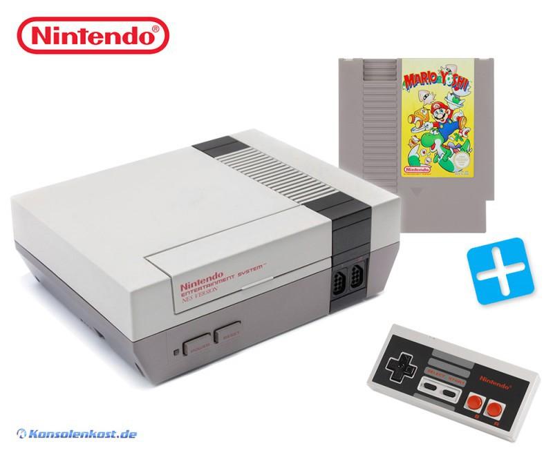 Konsole + Mario & Yoshi + Original Controller + Zubehör