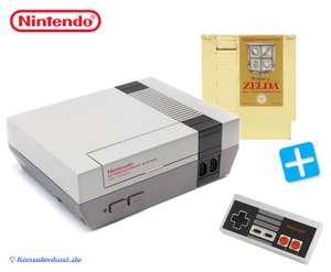 Konsole + Zelda 1 + Original Controller + Zubehör