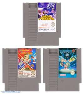 Mega Man 1 + 2 + 3