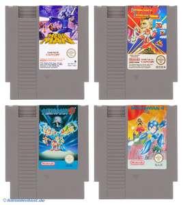 Mega Man 1 + 2 + 3 + 4