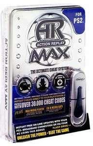 Cheat Catridge / Mogelmodul / Schummelmodul Action Replay Max Evo + 16 MB USB Stick