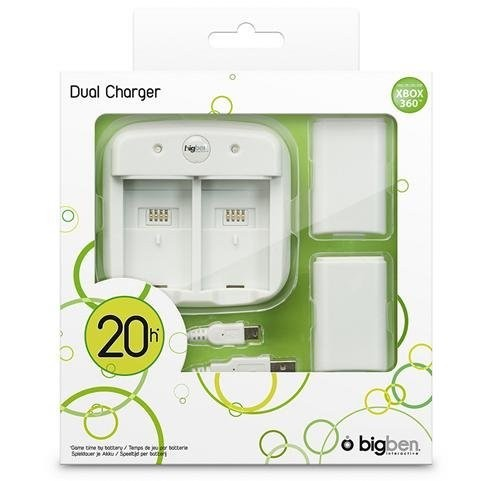 Play & Charge Dual Charger: Ladestation + 2 Akkus [BigBen]