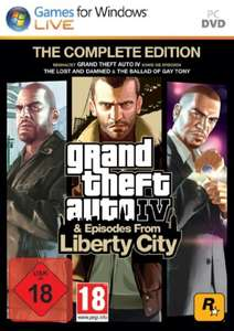 Grand Theft Auto IV / GTA 4 + Episodes from Liberty City - Complete Edition
