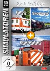Simulator Bundel: Notarzt, Schwertransport, Rangier