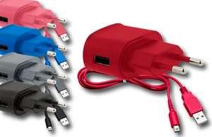 Multi Netzteil Color Edition farbl.sort. DSi, DSi XL,, XL, Micro-USB