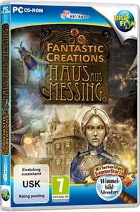 Fantastic Creations Haus aus Messing