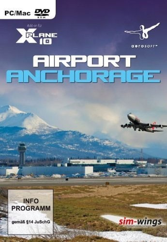 X-Plane 10: Airport Anchorage