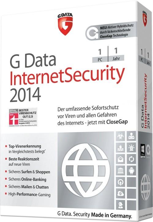 G Data InternetSecurity 2014 Upgrade