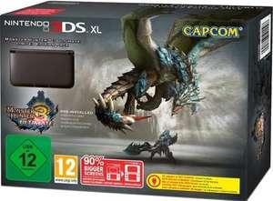 Konsole XL #schwarz Monster Hunter 3U Edition + Spiel vorinstalliert