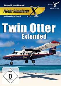 Flight Simulator X: Twin Otter Extended AddOn zu FSX