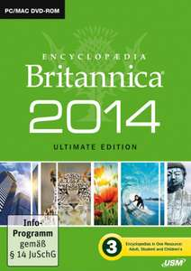 Encyclopaedia Britannica 2014 Ultimate