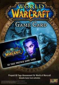 World of WarCraft: GameCard / 60 Tage Pre-Paid