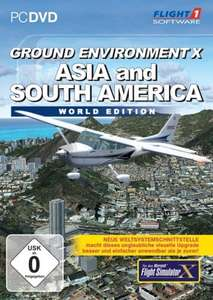 Flight Simulator X - Ground Enviroment X5: Asia and South America World