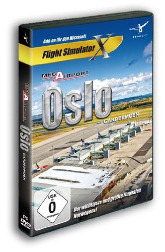 Flight Simulator X: Mega Airport Oslo X